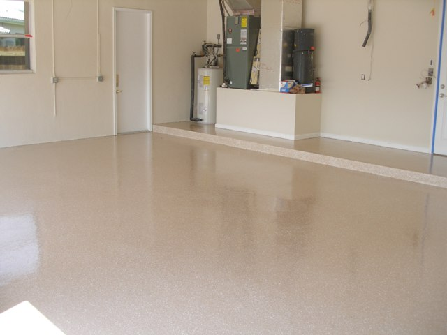 Resinous flooring concrete polishing epoxy flooring for Residential flooring